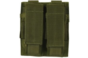 Fox Outdoor Dual Pistol Mag Pouch, Olive Drab 099598575205