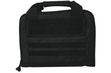 Fox Outdoor Dual Tactical Pistol Case, Black 099598545390
