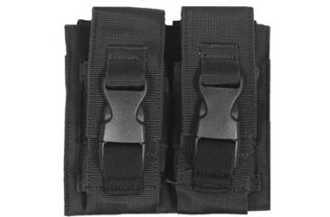 Fox Outdoor Flash Bang Pouch - Double, Black 099598578121