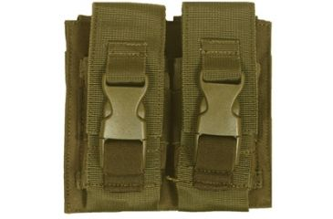 Fox Outdoor Flash Bang Pouch - Double, Coyote 099598578268