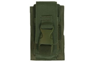 Fox Outdoor Flash Bang Pouch - Single, Olive Drab 099598576806