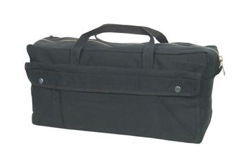 Fox Outdoor Jumbo Mechanics Tool Bag w/ Brass Zipper, Black 099598406608