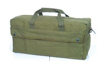 Fox Outdoor Jumbo Mechanics Tool Bag w/ Brass Zipper, Olive Drab 099598406509