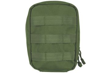 Fox Outdoor Large Modular 1st Aid Pouch, Olive Drab 099598568504