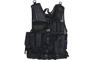 Fox Outdoor MACH-1 Tactical Vest, Black 099598652272