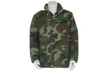Fox Outdoor Mens Retro M65 Field Jacket w/ Liner, Woodland Camo, L 099598303457
