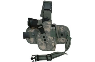 Fox Outdoor Mission Ready Drop Leg Holster, Army Digital 099598580872
