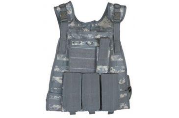 Fox Outdoor Modular Plate Carrier Vest, Army Digital 099598652876