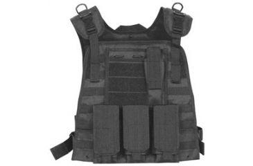 Fox Outdoor Modular Plate Carrier Vest, Black 099598652814