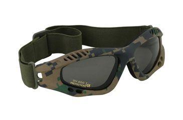 Fox Outdoor Mojave Goggle, Digital Woodland 099598854034