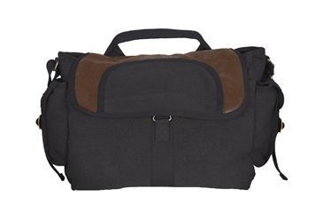 Fox Outdoor Retro Bavarian Alps Messenger Bag, Black 099598433314
