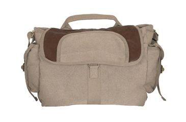 Fox Outdoor Retro Bavarian Alps Messenger Bag, Khaki 099598433352