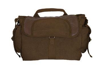 Fox Outdoor Retro Bavarian Alps Messenger Bag, Vintage Brown 099598433389