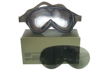 Fox Outdoor Sun, Dust and Wind Goggles, Black 099598902957