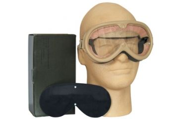 Fox Outdoor Sun, Dust and Wind Goggles, Desert Tan 099598902971