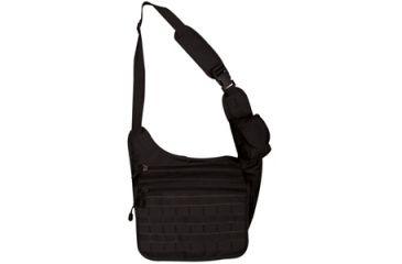 Fox Outdoor Tactical Messenger Bag, Black 099598513313