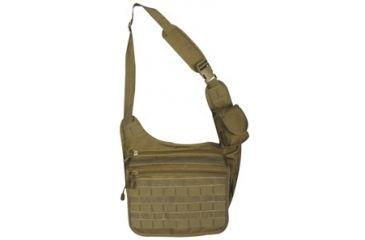 Fox Outdoor Tactical Messenger Bag, Coyote 099598513382