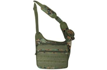 Fox Outdoor Tactical Messenger Bag, Digital Woodland 099598513337
