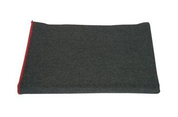 Fox Outdoor Wool Camp Blanket, Dark Grey 099598818906