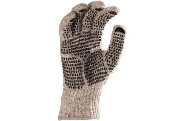 Fox River Gripper Gloves, Brown Tweed, Medium 527847