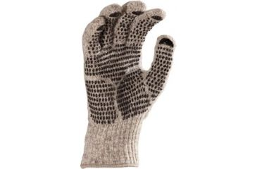 Fox River Gripper Gloves, Brown Tweed, Small 527846