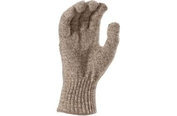 Fox River Mid-Weight Ragg Glove, Brown Tweed, Small 527840