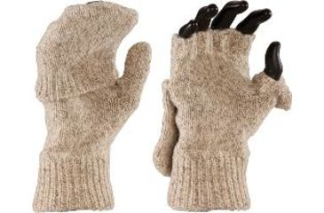 Fox River Wool Glomitten, Brown Tweed, Large 527854