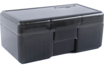 Frankford Arsenal  Ammo Box 50 Count, Gray 414965