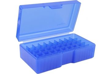 Frankford Arsenal Ammo Box, #506 - 50 Count, Blue 369645
