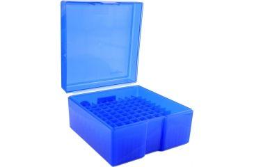 Frankford Arsenal .243-.308 Caliber Ammo Box, #1009 - 100 Count, Blue 562778