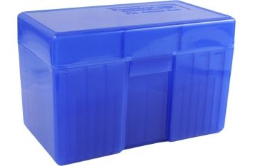 Frankford Arsenal Belted Magnum Ammo Box, #511 - 50 Count, Blue 162882