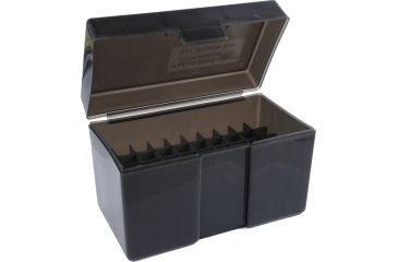 Frankford Arsenal Belted Magnum Ammo Box, #511 - 50 Count, Gray 803479