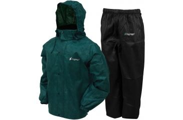 LG AS1310-112LG Jacket Frogg Toggs All Sport Rain Suit Royal Blue// Black