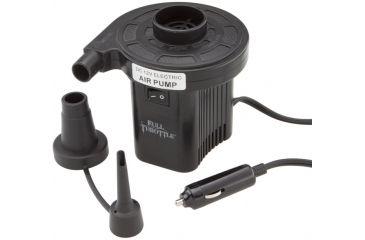 Full Throttle Air Pump, Univ, Compact 12V Cigarette P110BLK99