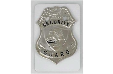 Fury Security Guard Badge, Silver FP15930
