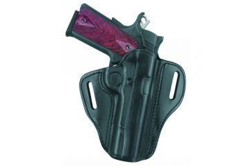 G&G B800-G17LH Open Top Two Slot Holster, Black, Left Hand - Glock 17/22/31