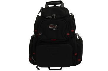 G Outdoors Products Rolling Handgunner Backpack Black Gps 1711robp