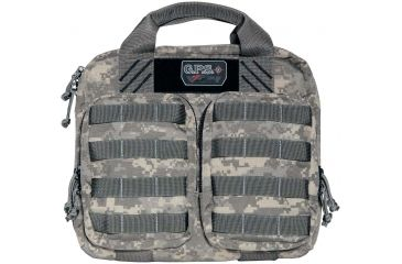 G. Outdoors Products Tactical Double Storage Unit with 2 Pistol Case, Digital Camo GPS-T1410PCD