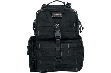 G. Outdoors Products Tactical Range Backpack, Black GPS-T1612BPB