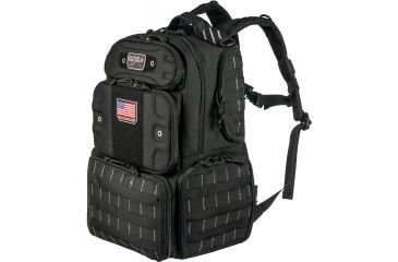 G Outdoors Products Tall Tactical Range Backpack Black