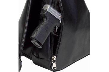 4-Galco Addison Holster Handbag Ambidextrous - Black ADDBLK
