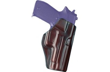 Galco Concealed Carry Paddle Holster, Right Hand, Havana, Colt 5in 1911 CCP212H