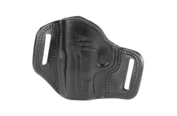 66-Galco Combat Master Belt Holster, Leather