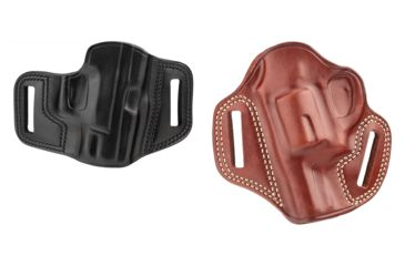 1-Galco Combat Master Belt Holster, Leather