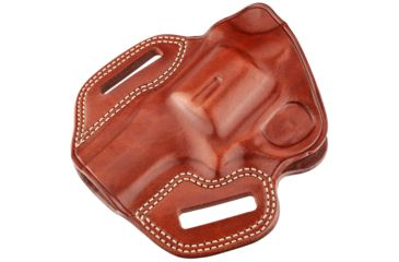 107-Galco Combat Master Belt Holster, Leather