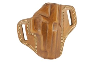 39-Galco Combat Master Belt Holster, Leather