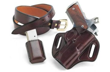 Galco Concealable Belt Holster Left Hand - Black CON297B