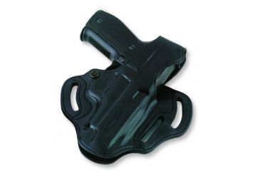 Galco Cop 3 Slot Holster for Sig P250, Black, Right Hand