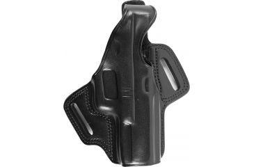 Galco FLETCH High Ride Concealment Holster, Black, Right Hand Glock 17 FL224B