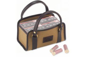 Galco Four Box Shell Carrier Canvas & Leather Dark Havana CT1076DH